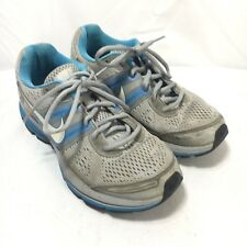 Nike Pegasus 29 Women's 7.5 Blue Gray Lace Up Running Training Shoes 524981-014