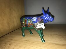 "Super Rare Cow Parade ""Moo York Moo York"" Art Figurine"