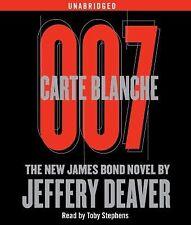 Carte Blanche 007: The New James Bond Novel [Audio] by Jeffery Deaver