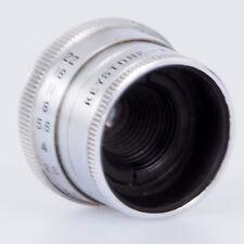 "# Keystone Elgeet 1/2"" F2.5 C Mount Lens For Film Movie Cameras (#115)"
