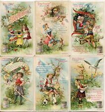 Chromo Liebig Sang. 571 TED Rime Infantili IV ANNO 1898