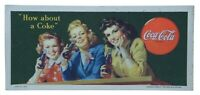 How About a Coke 1944 Advertising Ink Blotter Coca Cola