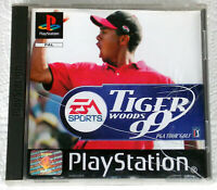 Playstation 1 Spiel Tiger Woods 99 PGA Tour Golf  EA Sports PAL PS1 PS-One