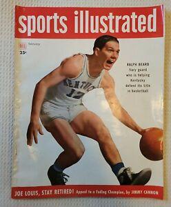 February 1949 Dell Sports Illustrated Magazine ~ Kentucky Basketball, Joe Louis