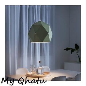IKEA PENDANT LAMP SHADE Light Green Shade JOXTORP NEW!!