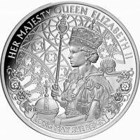 Niue 2020 Queen Elizabeth II Long May She Reign QEII $1 Oz Pure Silver Proof