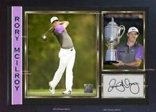 new Framed Rory Mcilroy signed autograph photo print Legend Golf Memorabilia