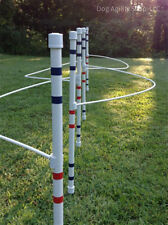 Dog Agility Equipment Weave Poles with Guide Wires