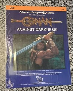 TSR CONAN AGAINST DARKNESS CB2 Dungeons & Dragons 9124 Module New Sealed 1984