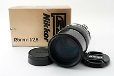 """MINT in BOX"" Nikon Ai Nikkor 135mm f2.8 Lens from Japan #1406"