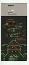Boeing 747 Airliner Aircraft Airplane Brochure