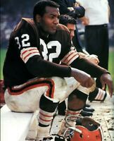 Jim Brown Cleveland Browns UNSIGNED 8X10 Photo A