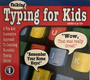 Talking Typing for Kids PC CD-ROM Learning Keyboarding Skill Software (NEW) #N68