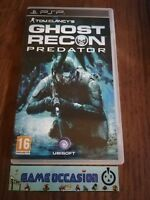 TOM CLANCY'S GHOST RECON PREDATOR PSP SONY PLAYSTATION PORTABLE BOXED PAL