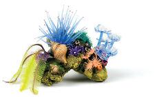 Coral Roca Cueva de pescado con silicona corales anémonas y Plantas Ornamento de acuario