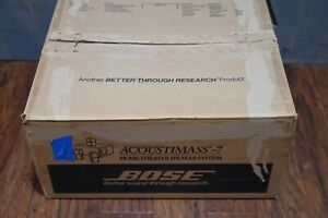 Bose Acoustimass 7 AM7 Home Speakers and Subwoofer System White with Box