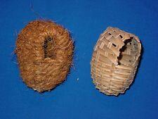 Nistkorb Bambus / Kokos für Exoten Nistkasten Schlafkorb Schlafhaus