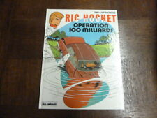 RIC HOCHET TOME 29 - OPERATION 100 MILLIARDS - TIBET DUCHATEAU