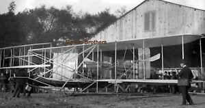 1909 NYC Hudson-Fulton Orville Wright Bros Canoe Plane Glass Camera Negative #2