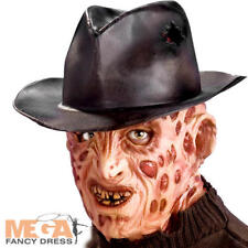 Freddy Krueger Hat Mens Fancy Dress Halloween Costume Adult Horror Accessory