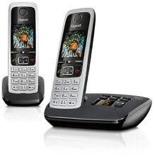 113725 Gigaset C430a Duo Schnurlostelefon mit ab schwarz