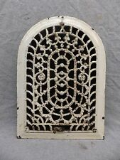 Antique Cast Iron Arch Top Dome Heat Grate Wall Register 8x12 204-17R