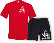 Shirt + shorts Deutscher boxer perro perros Sport Dog 1