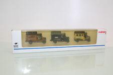 "Märklin H0 1898 Fahrzeug-Set 3tlg. ""Lieferwagen Oldtimer"" neuwertig OVP (NL8304)"