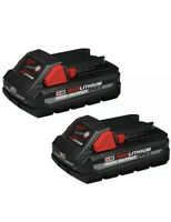NEW Milwaukee 48-11-1837  (2-Pack) CP3.0 High Output Battery M18 Red Lithium