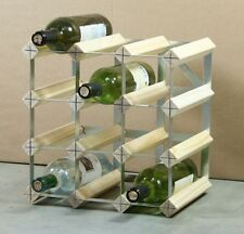 Wooden 10-19 Bottles Wine Racks