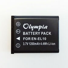 EN-EL10 Battery for Fujifilm FinePix XP10 J10 Z30 JZ300 Z10fd JV100 NP-45 NP-45A