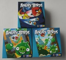 """Angry Birds Lot of 3 New 24 Piece Puzzles Space Pigs Red Mattel 10"""" x 13"""""""