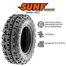 21x7x10 ATV QUAD FRONT TYRE TIRE ROAD STREET A027 SUN-F AO27 SUN E MARKED LEGAL