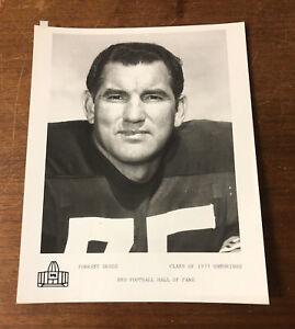 Original Vintage NFL Pro Football Hall of Fame Photo Forrest Gregg 1977 Packers
