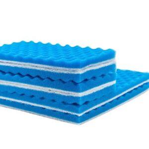 Aquarium Sponge Biochemical Cotton Fish Tank Pond Foam Reusable Filter Mat Pad