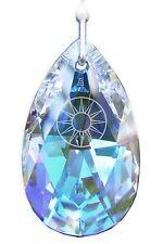 Elementi di cristallo Swarovski originali Suncatcher/Rainbow Maker 28mm blu AB MANDORLA