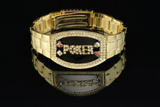 Poker Bracelet Gold Elite - Dark Silver Faceplate NEW for Tournament Winners
