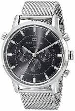 Tommy Hilfiger Mens 1790877 Silver-Tone Stainless Steel Watch