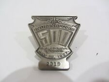 1997 INDIANAPOLIS 500 SILVER BADGE ARIE LUYENDYK WIN INDY CAR bronze jr. AURORA