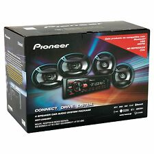 Car Audio Stereo System Pioneer 4 Speaker Package Accessory Nice Sounding Music