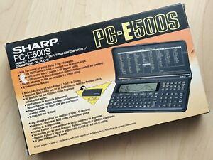 SHARP PC-E500S / 256KB OVP / Pocket Computer / BASIC Calculator / Taschenrechner