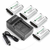 4 NP-BX1 Battery Charger For Sony Cyber-Shot DSC-RX100 II III HDR-AS100V AS200V