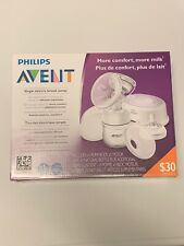 Philips Avent Single Electric Breast Pump SCF332/21 New in Factory Sealed Box A