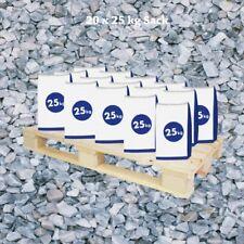 (0,40€/1kg) Halbe Palette Marmorsplitt Ice Blue 8-16 mm 20x25 kg Sack