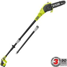 Cordless Pole Saw Electric Trimmer Pruner Chainsaw Garden Tree Battery Charger