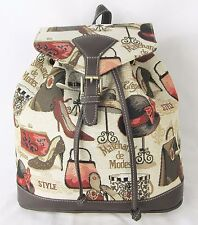 Boutique Design Tapestry Backpack or Rucksack Signare