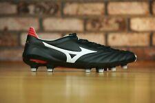 Mizuno Morelia Neo II 2 Black Soccer Kangaroo Made in Japan P1GA165001 Sz 9