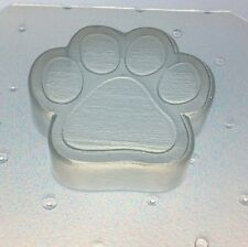 """Flexible Resin Or Chocolate Mold Dog Or Cat Paw 2"""" x 2"""" x 1/2"""" Deep"""