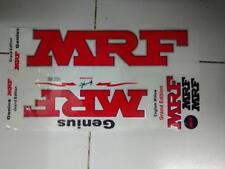 2018 Model Brand MRF RED Grand Edition Virat Kohli Cricket Bat Stickers Rare