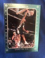 1997-98 SP Authentic Future Watch #165 Tim Duncan Spurs RC HOF Rookie Card